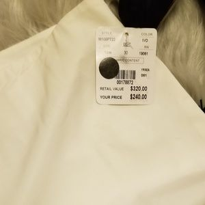 Sz 14M Doncaster pants viscose and virgin wool